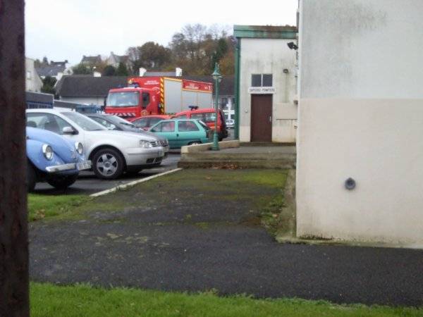 Cellule sauvetage déblaiment de Brest à Landerneau