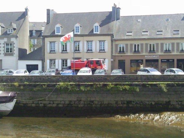 Intervention CCF Landerneau - La saison des feux de forêt commence
