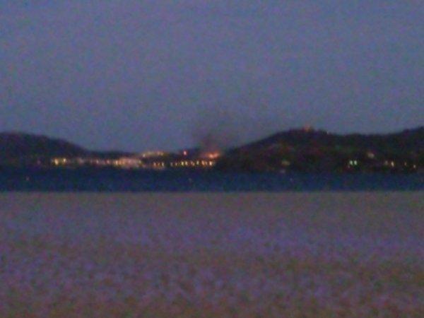 Incendie à Collioure le 9 août 2011