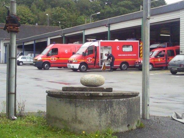 VSAV Logistique à Landerneau