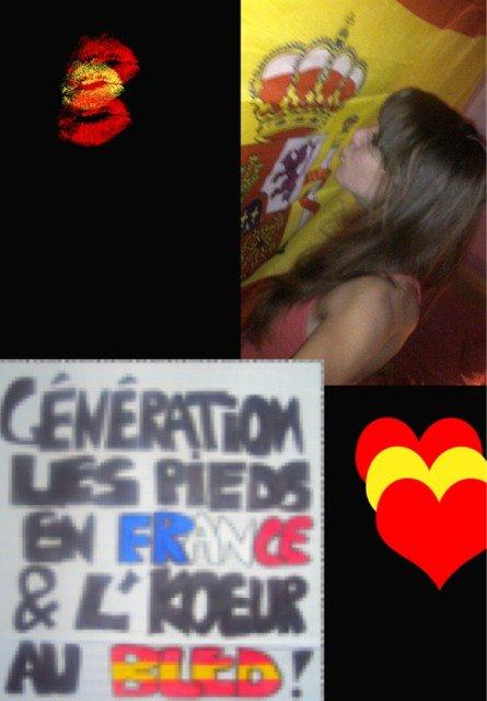 Pie de generación en Francia ~ The Bled en el corazón! ESPAÑA PARA LA VIDA <3