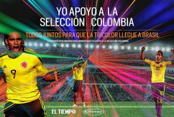 Colombia para el mundial 2014