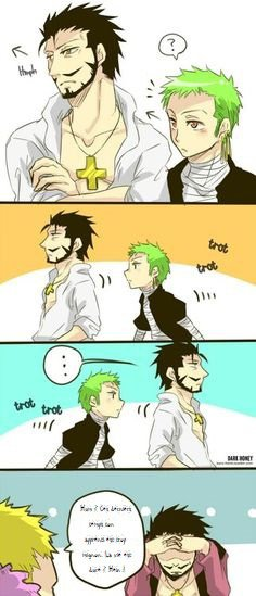 Zoro Cute with the Master