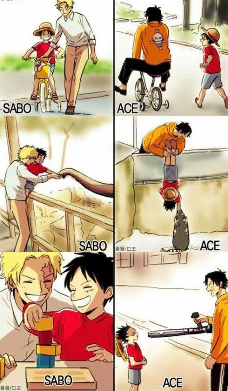 Les grands frères de Luffy !!!