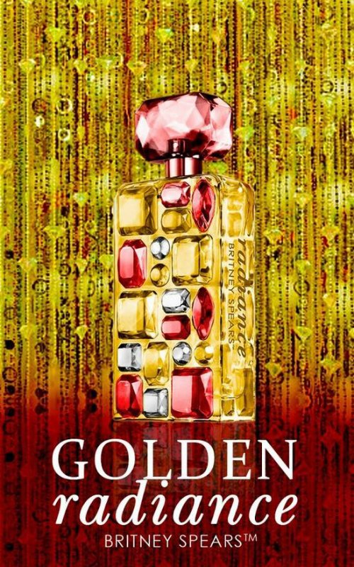 "Nouvelle fragrance ""GOLDEN RADIANCE"" ?"