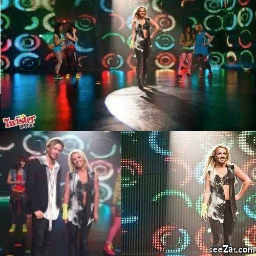MEDIA : TOURNAGE DE LA PUB POUR TWISTER DANCE   11/04