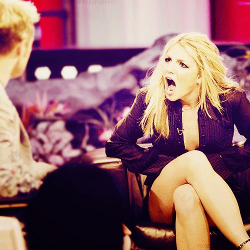 Britney dans les studios de la Fox à NY lundi !
