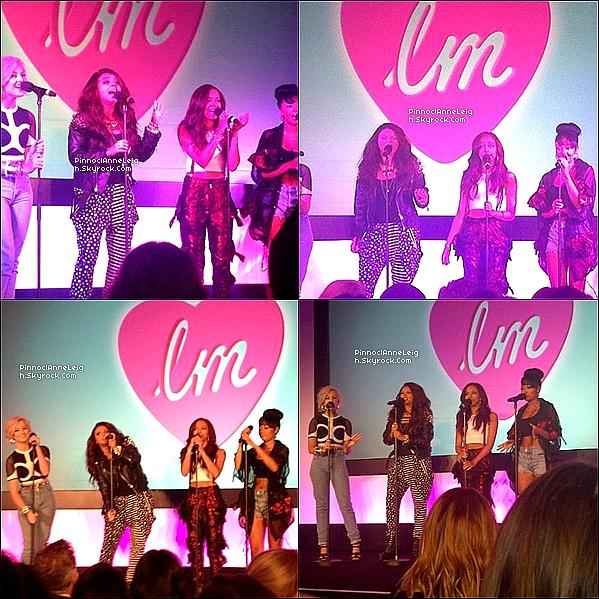 14 Août 2012 : Les Little Mix ont perfomer leurs tube wings au « Lunch Party 2012 » de Los Angeles. : Vidéo +Ce jours-là Jesy avait poster une photo d'elle et ses amies, Leigh-Anne , Jade et Perrie sur leurs compte twitter ; @littlemixoffic