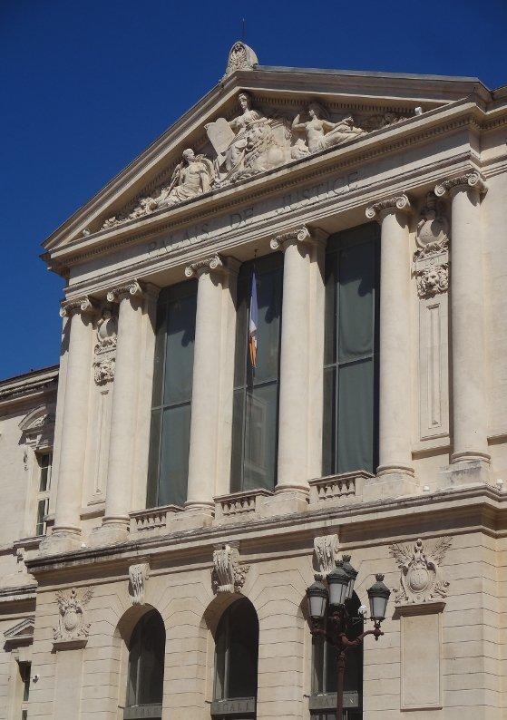 Nice FR 06, Vieux-Nice (Palais de Justice), 29/04/2019, by / par Terence DEN HOED