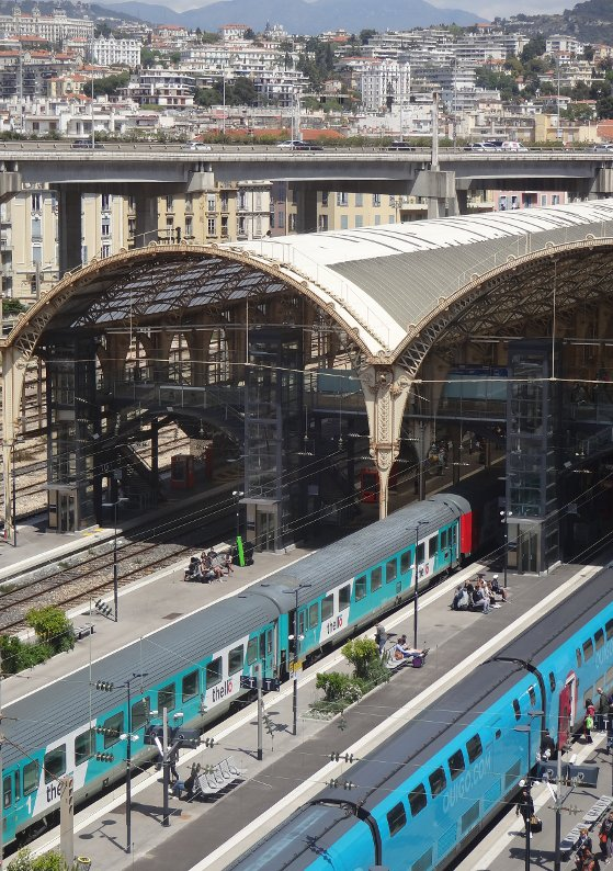 Nice FR 06, Gare Thiers, 07/05/2019, by / par Terence DEN HOED