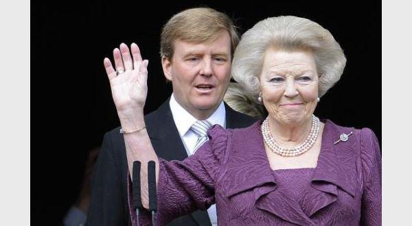 le nouveau roi de pays bas Willem-Alexander prête serment