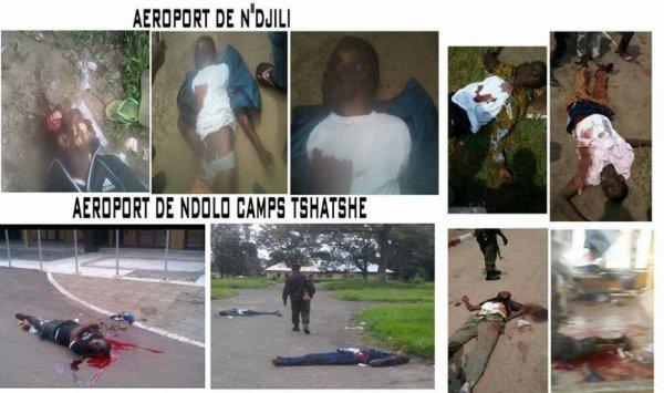 voici les corps des Congolais qui ont sacrifié leurs vie en se prenant en charge et libérer leur pays