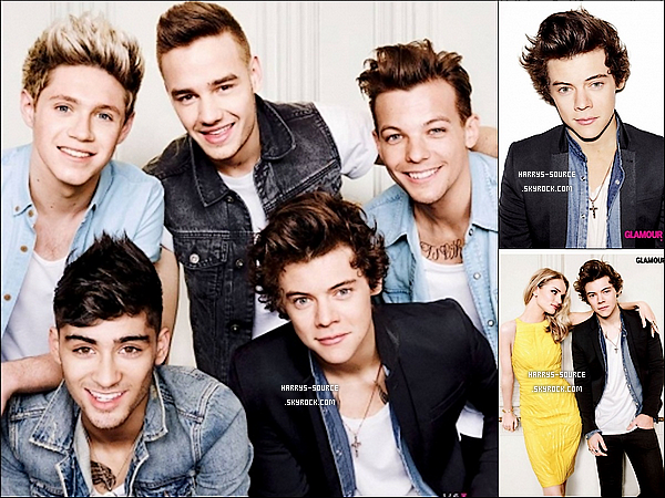""". Un nouveau photoshoot des boys pour le magazine """"GLAMOUR""""ou ils font la couverture"""". ."""