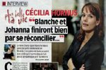 Cécilia Hornus : « Blanche et Johanna finiront bien par se réconcilier »