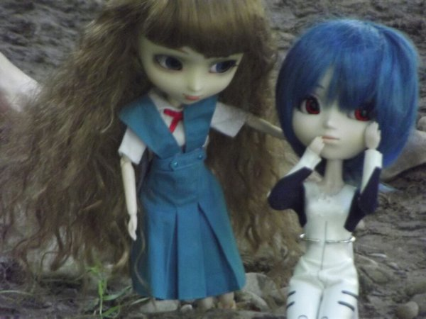 Seance photo de shan et san ( pullip de just-for-pullip