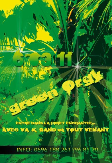 -> DIMANCHE 06 MARS 2011 - GREEN ORGY (972)
