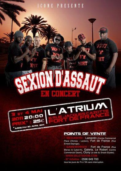 -> MARDI 03 MAI 2011 - 1ere Partie SEXION D'ASSAUT with Kalash & Lieutenant (972)