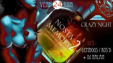 -> VENDREDI 24 JUIN 2011 - NOSTA MEMORY II (SAINTE-LUCE - 972)