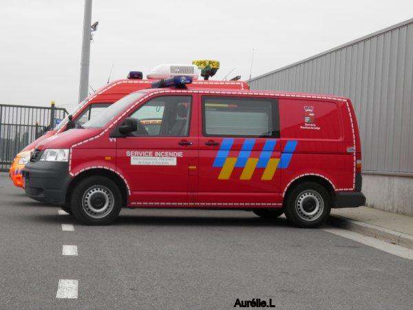 Pompiers de Liège ====> Liège airport