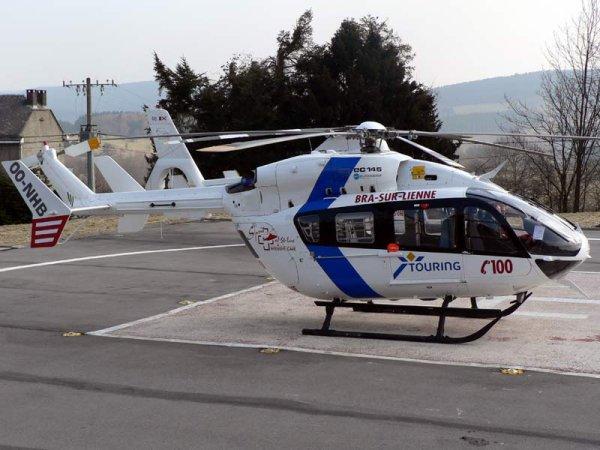 Hélicoptère médicalée de Bra-Sur-Lienne
