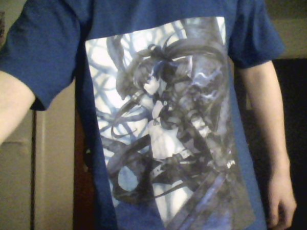 T-Shirt Black Rock Shooter