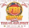 soiree fbi show 100% hip hop