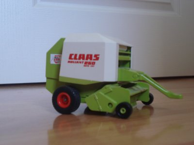 Ma presse paille CLASS 250 Rollant Roto Cut