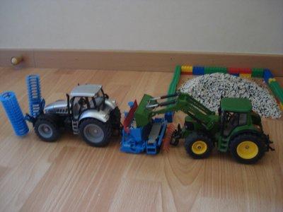 Semis d'herbe a vache