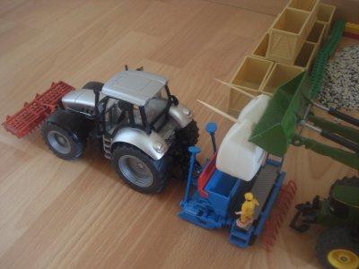 Semis de blé en mini...