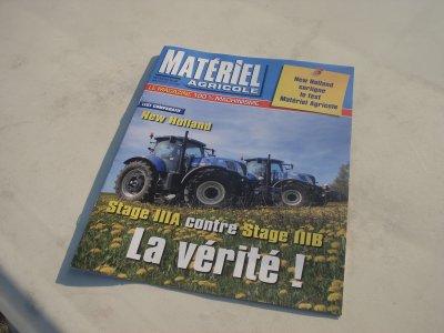 """Revue""""Matériel Agricole"""" du mois d'Octobre (2011)"""