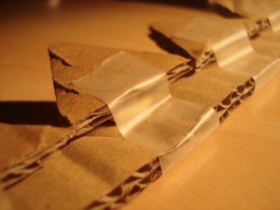 Création d'une coupe a maïs (en carton) !!