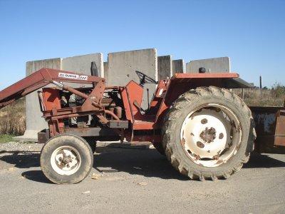 Mon stage ----> Tracteur Fiat