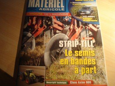 """Revue""""Matériel Agricole"""" du mois de Novembre (2011) !!"""