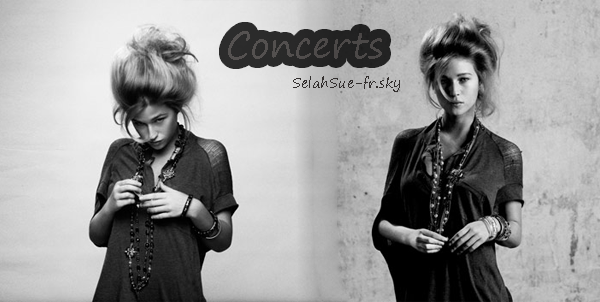 Petits concerts, première partie de Selah Sue: