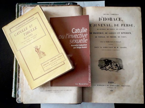 CATVLLI CARMEN V AD LESBIAM AC XVI AD AVRELIVM FVRIVMQVE