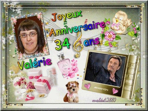 **Joyeux Anniversaire à ma fille Valérie ***