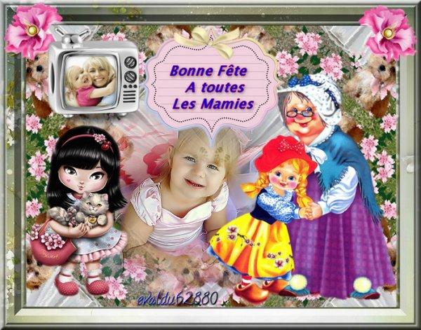 ****Bonne Fête à toutes les Mamies  ***