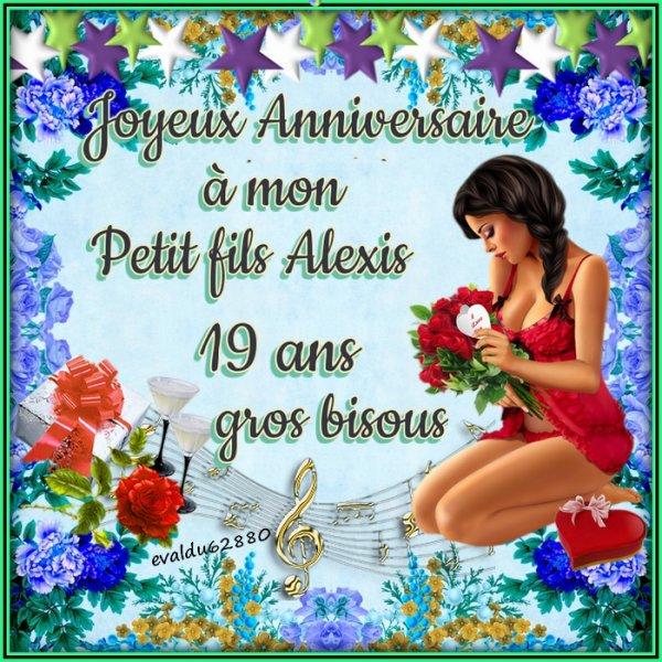***Joyeux Anniversaire Alexis ***