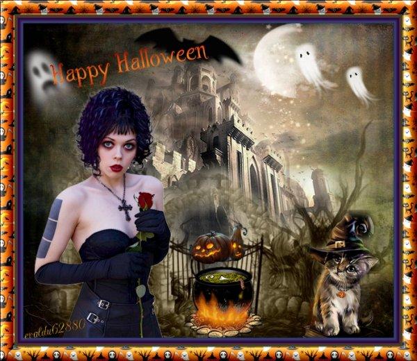 *****Bonne fête d 'Halloween ****