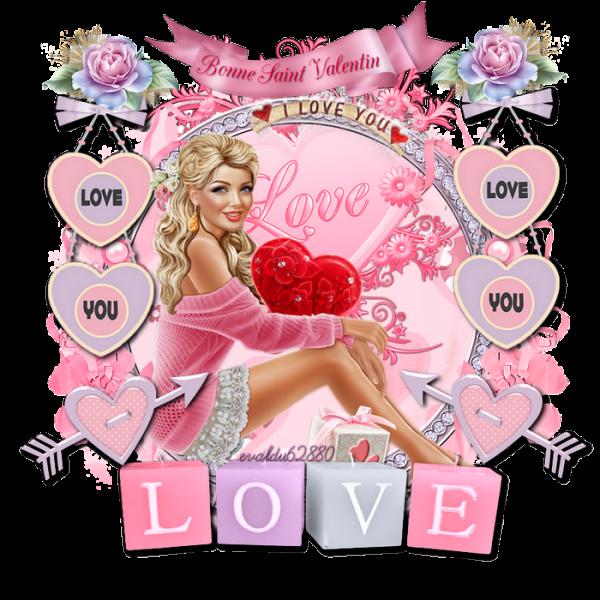 [c =#0000ff] Bonne Saint Valentin