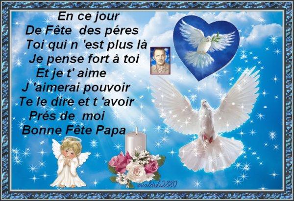 ****Bonne Fête Papa ****