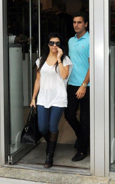 Les Kardashians de sortie : KOURTNEY