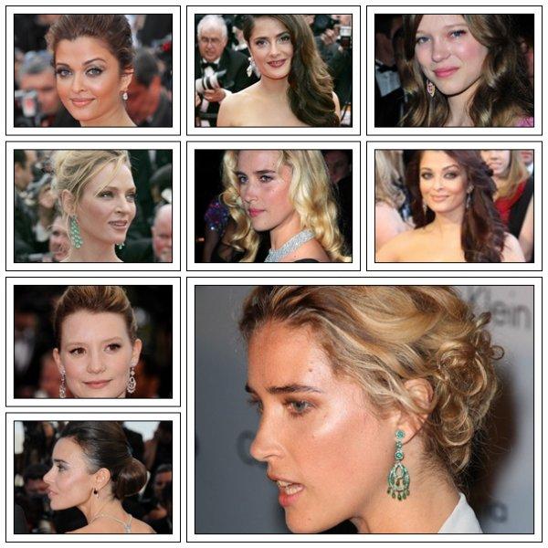 Du 11 au 22 mai, les plus grands coiffeurs sont réunis au Festival de Cannes 2011 pour nous proposer des coiffures plus glamour les unes que les autres ! Coiffure rétro, chignon coque, cheveux bouclés ou tresse hippie : découvrez les plus belles coiffures des stars sur le tapis rouge cannois !