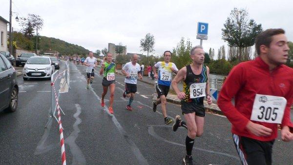 10km de Montereau, le dimanche 29 Octobre 2017.