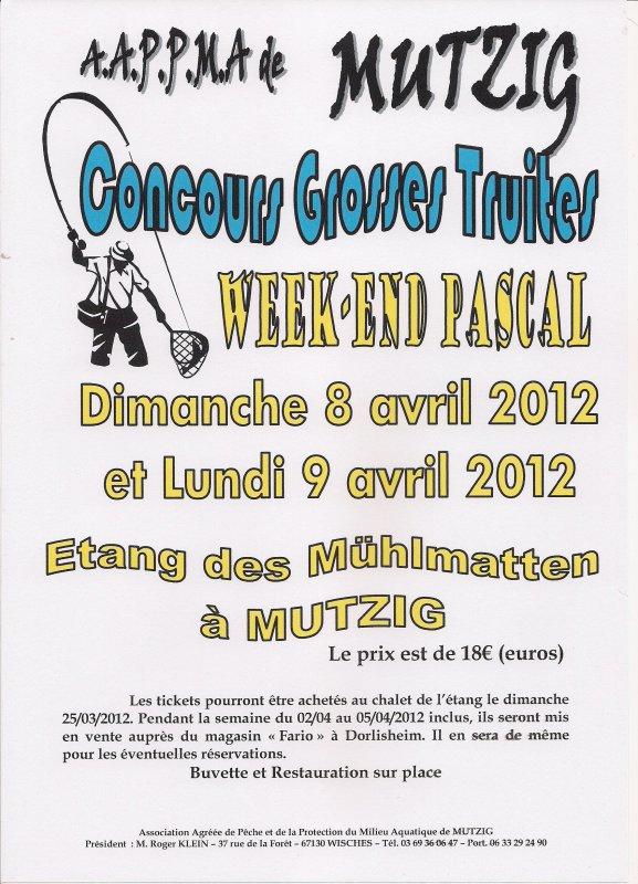 CONCOURS GROSSES TRUITES 2012