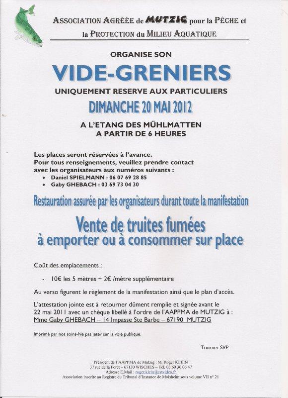 VIDE-GRENIERS 2012