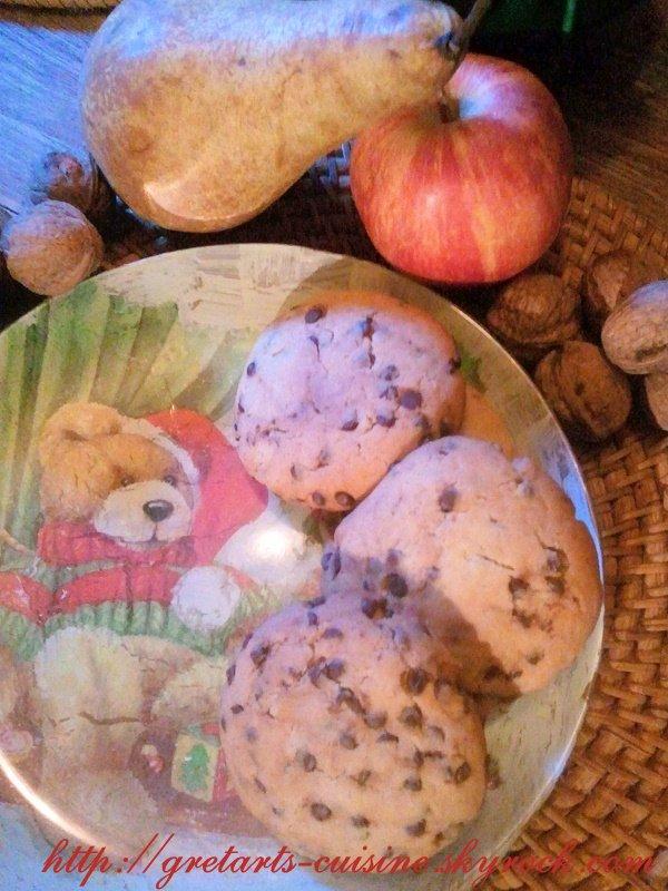 cookies au noix