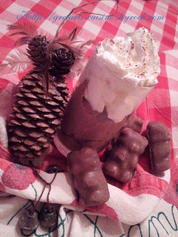 mousse au chocolat café spéculoos
