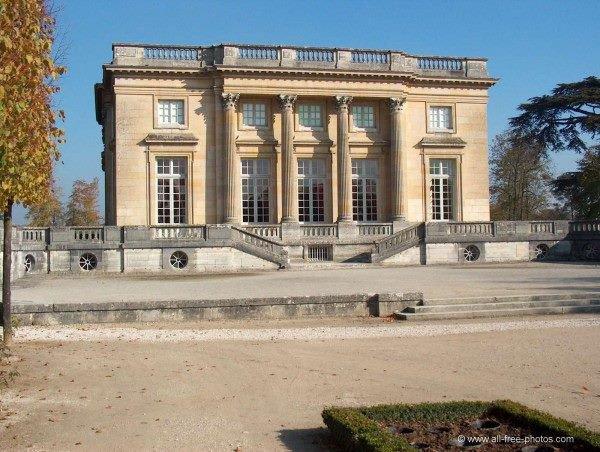 Les jardins du Petit Trianon à Versailles (Yvelines)
