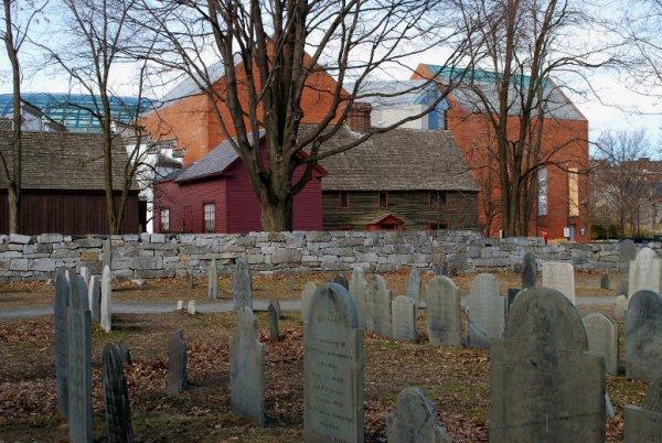 Le cimetière de Salem, Massachusetts
